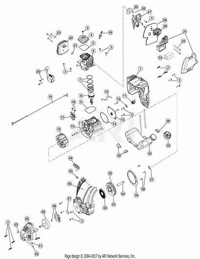 Engine Troy Bilt Version Diagram Parts Assembly