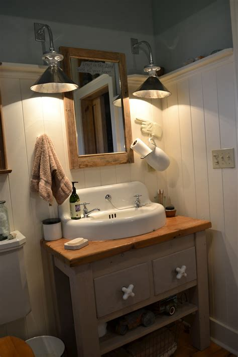 farmhouse style vanity lights the 1829 farmhouse farmhouse tour bathroom