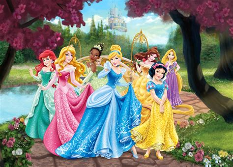 xxl poster wall mural wallpaper disney princesses princess photo 160 cm x 115 cm 1 75 yd x 1 26 yd