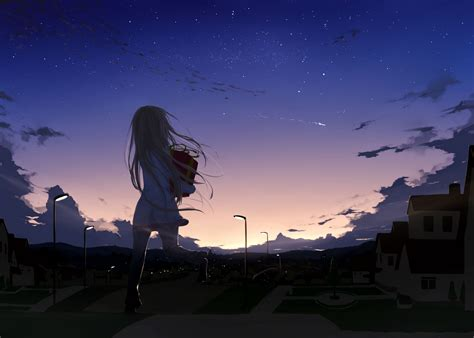 Anime Sky Wallpaper - anime sky wallpapers high resolution fot background