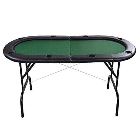 Aw Foldable Poker Table Wleg 72x32x30 8 Player Texas