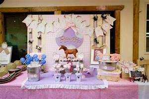 Kara39s Party Ideas Girl Vintage Horse Cowboy Themed 5th