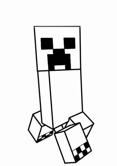 Minecraft Creeper Tudodesenhos Imprimir Colorir Desenho
