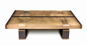 divided lands bronze coffee table studio roeper With bronze metal coffee table