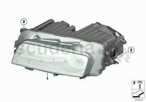 Rolls Royce Ghost Headlight Parts