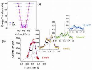 A  Experimental Dispersions Of The Magnetic Excitations