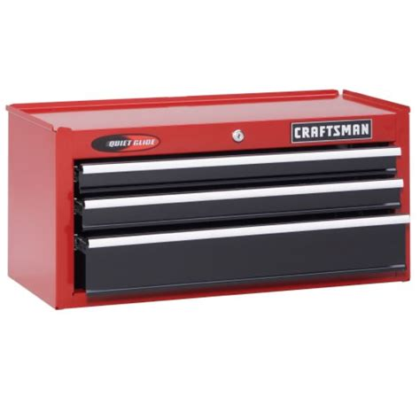 Craftsman Tool Box Dresser by New Craftsman 26 Quot Wide 3 Drawer Glide Top Chest