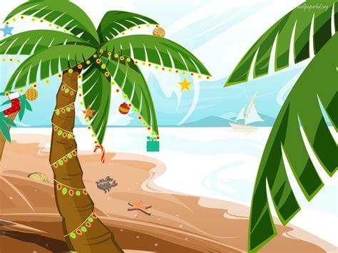 Tropical Christmas Clip Art Cliparts
