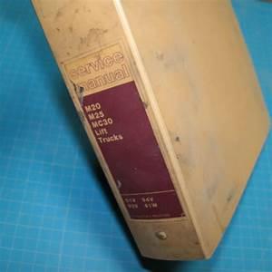Cat Caterpillar M20 M25 Mc30 Service Shop Repair Manual