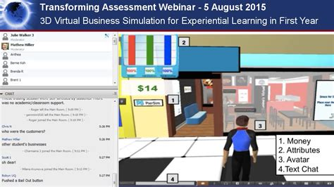 3d Virtual Business Simulation For Experiential Learning In First Year Accounting Youtube