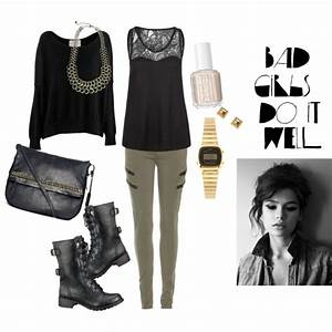 5sos Necklace #5 - Bad Girl Outfit Polyvore | MODERN