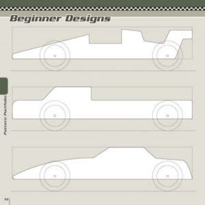 pinewood derby car templates printable business card