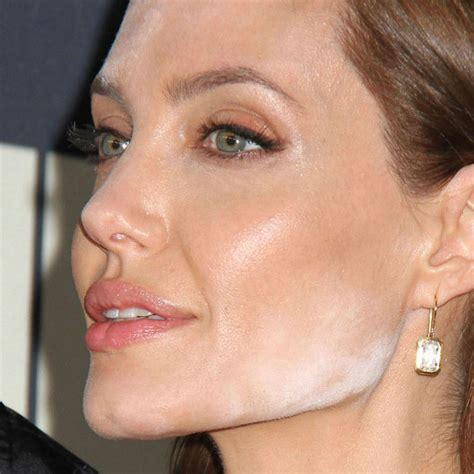angelina jolie makeup mistake     wrong marie claire
