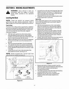 Page 17 Of Cub Cadet Lawn Mower Lt1050 User Guide