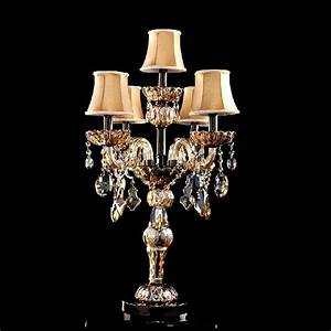 modern table lamps for bedroom crystal table lamp with ...