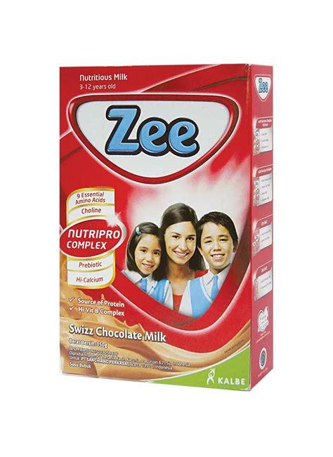zee bubuk instant swizz chocolate box 350g klikindomaret