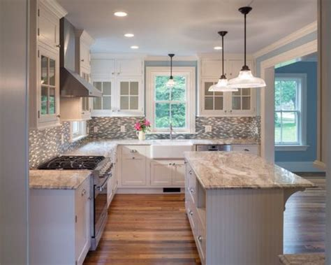 wood backsplash kitchen brown granite houzz 1127