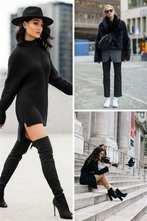 How To Wear All Black Outfits Next Fall 2018 | OnlyWardrobe.com