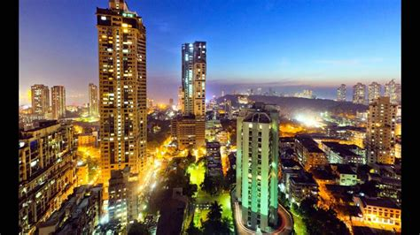 City At Night Wallpaper Mumbai City Skyline Youtube