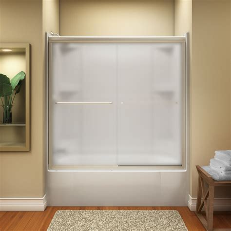 shower tub door nib kohler finesse frameless sliding tub shower door