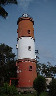 list  lighthouses  india wikipedia