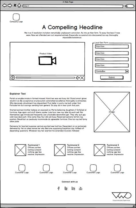 Lead Funnel Template by Testing Lead Generation Templates For Improving The