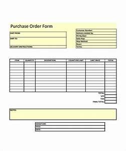 23 order form templates download sample templates With customer order form template excel