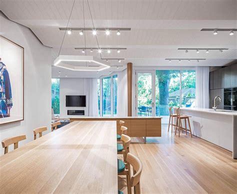 the modern rosemary house fills the open floor plan living