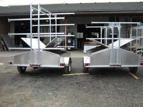 Aluminum Boat Trailers Vancouver by All Aluminum Kayak Trailers Outside Metro Vancouver Vancouver
