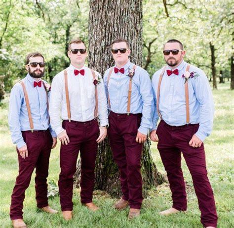 fall wedding dark brown rustic wedding vest brown