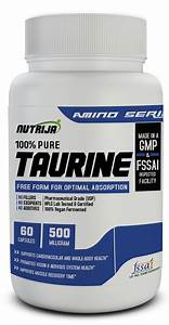 Buy Taurine 500mg Capsules In India