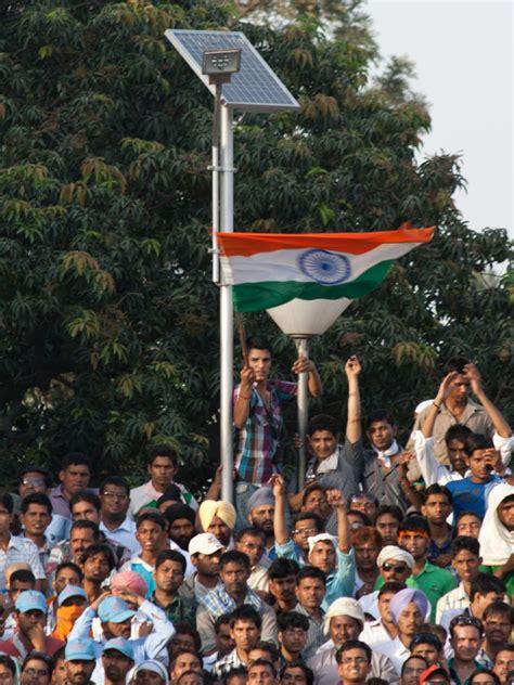 wagah border ceremony indian pakistan border sonya