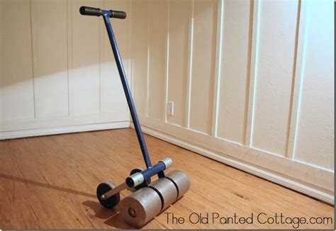 home depot flooring roller rental the old painted cottage the blog cottage8 our flooring a photo tutorial