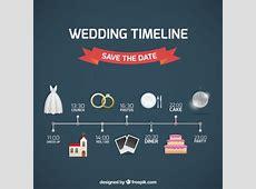 Hochzeit Timeline sparen sie das datum Download der