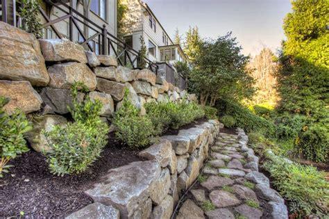 terrace garden landscaping how to turn a steep backyard into a terraced garden