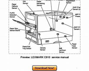 30 Lexmark Printer Parts Diagram