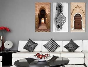Tableau Porte Orientale : tableau oriental pas cher table de lit a roulettes ~ Teatrodelosmanantiales.com Idées de Décoration