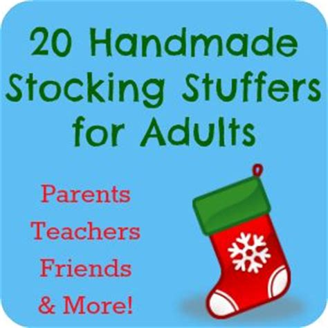homemade christmas favors for adults 25 unique stuffers for adults ideas on