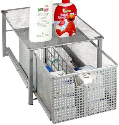 sliding basket drawers decobros mesh cabinet sliding basket drawer organizer