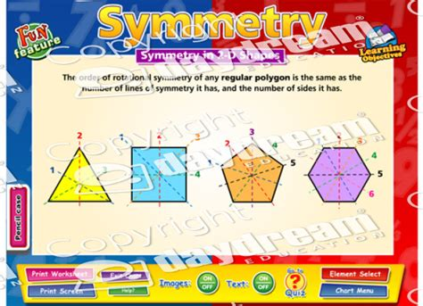 symmetry math educational software