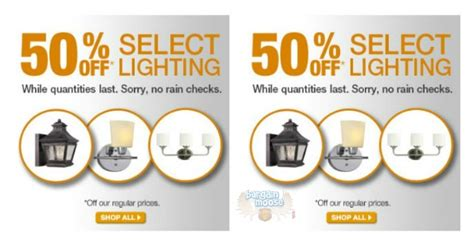 home depot canada lighting clearance sale up to 61