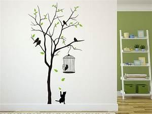Wandtattoo Baum Mit Bilderrahmen : baum mit vogelk fig und katze vorzimmer pinterest vorzimmer wandtattoo baum und wandtattoo ~ Eleganceandgraceweddings.com Haus und Dekorationen