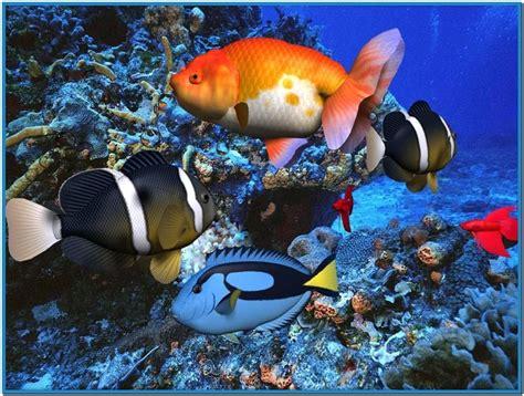 3d aquarium screensaver freeware free