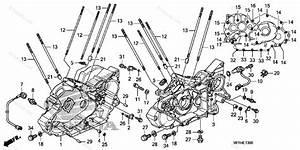 Honda Motorcycle 2010 Oem Parts Diagram For Crankcase