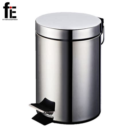 Metal Bathroom Garbage Can by Fie Bathroom Toilet 3 5 7l Stainless Steel Garbage Bin