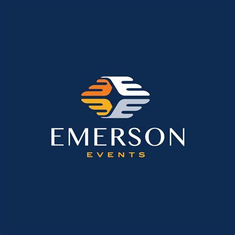e by design emerson events letter e logo design logo cowboy