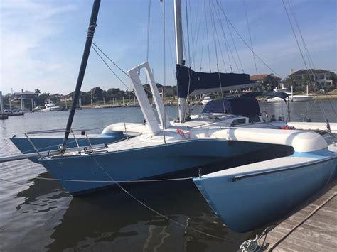 Trimaran Sailboat 1988 condor trimaran sail boat for sale www yachtworld