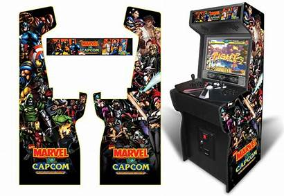 Arcade Graphics Capcom Marvel Custom Submitted Xtension