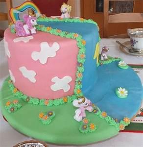 Regenbogen Einhorn Torte : kindergeburtstagstorte filly fairy regenbogen torte ~ Frokenaadalensverden.com Haus und Dekorationen