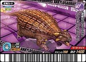 Ankylosaurus - Dinosaur King